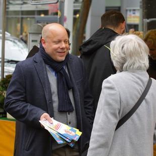 Kommen Sie ins Gespräch mit unseren Kandidaten für Europa Guido Müller