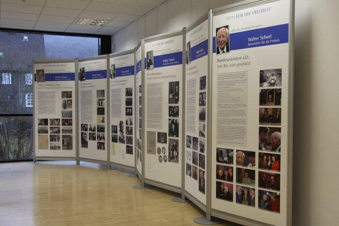 Walter Scheel-Ausstellung in Freudenberg 10. Februar 2017