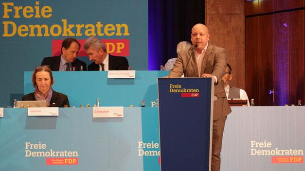 Landeswahlversammlung zur Europawahl 2019 in Bad Godesberg: Guido Müller ist Spitzenkandidat des Bezirks Westfalen-West