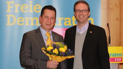 Freie Demokraten ziehen mit Prof. Hermann Siebdrat in die Bundestagswahl: