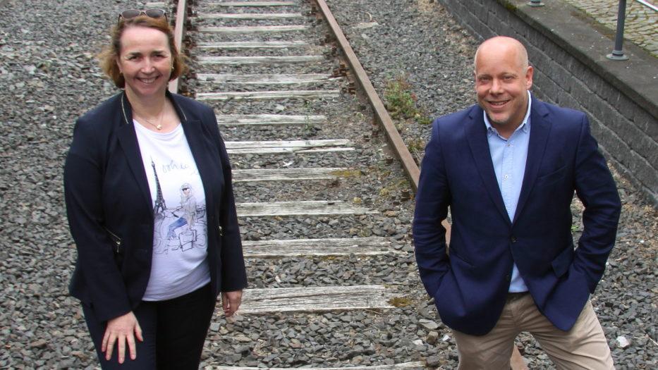 Verlagerung von Güterverkehren auf die Schiene
