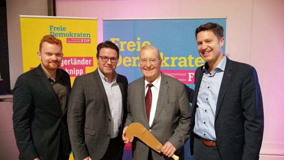 27. Haubergsknipp-Verleihung der Freien Demokraten Siegen-Wittgenstein