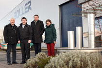 FDP-Fraktion besuchte die Boller GmbH u. Co. KG Neunkirchen