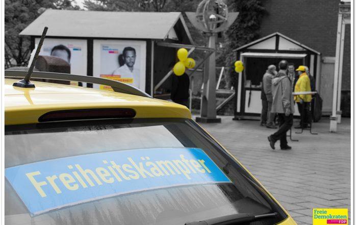 """2017 FDP Wahl-Event """"Am Rathausbrunnen"""" zur Bundestagswahl"""
