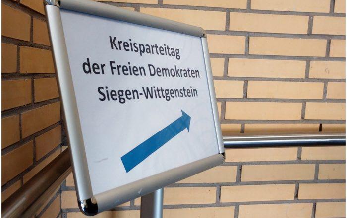 Orts-FDP auf Kreisparteitag in Siegen