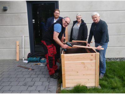 FDP Neunkirchen spendet Hochbeet