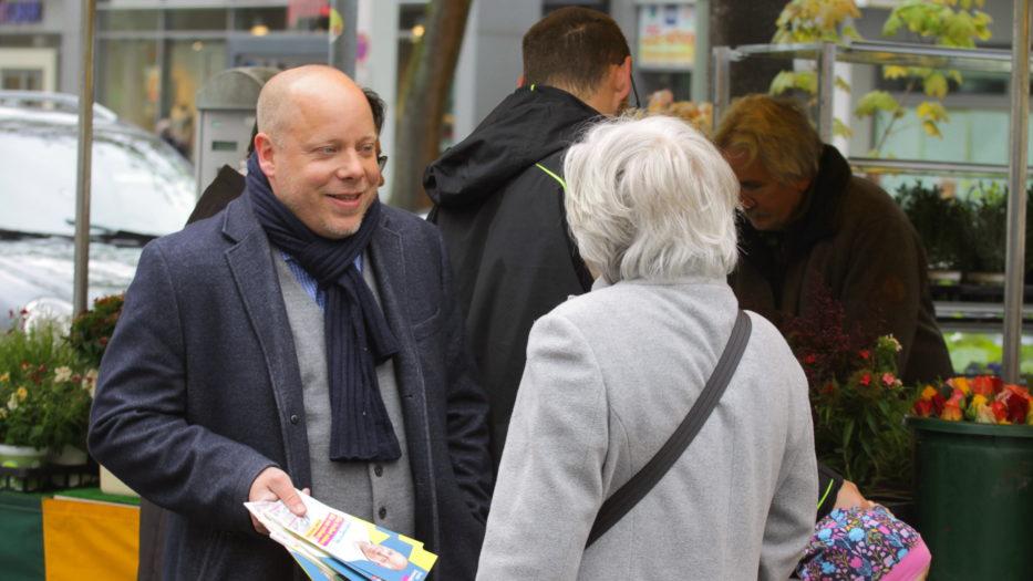 Europawahl – Infostände am 04.05.2019 in Siegen und Weidenau