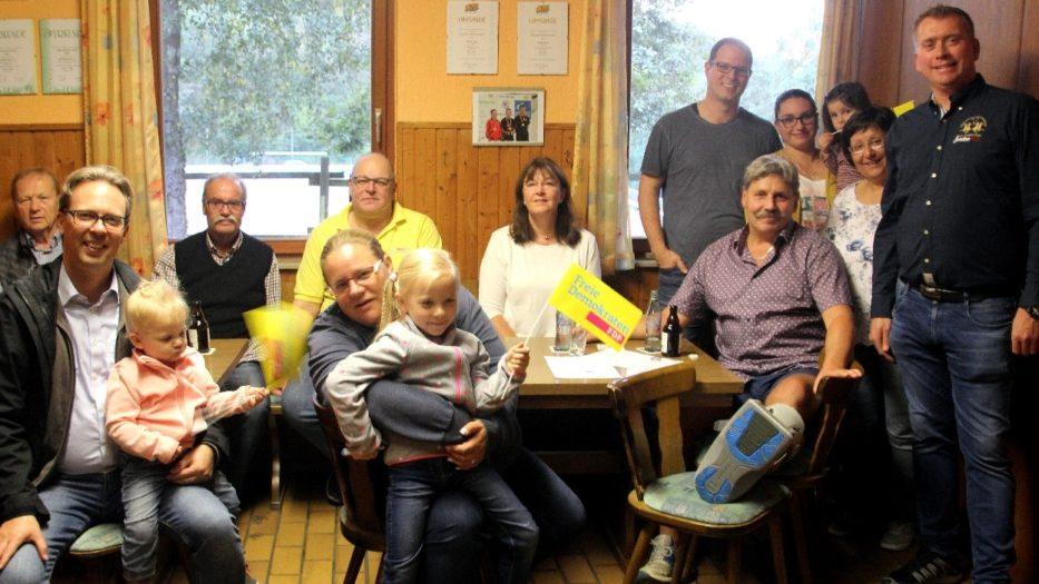 FDP-Familie ist Feuer und Flamme