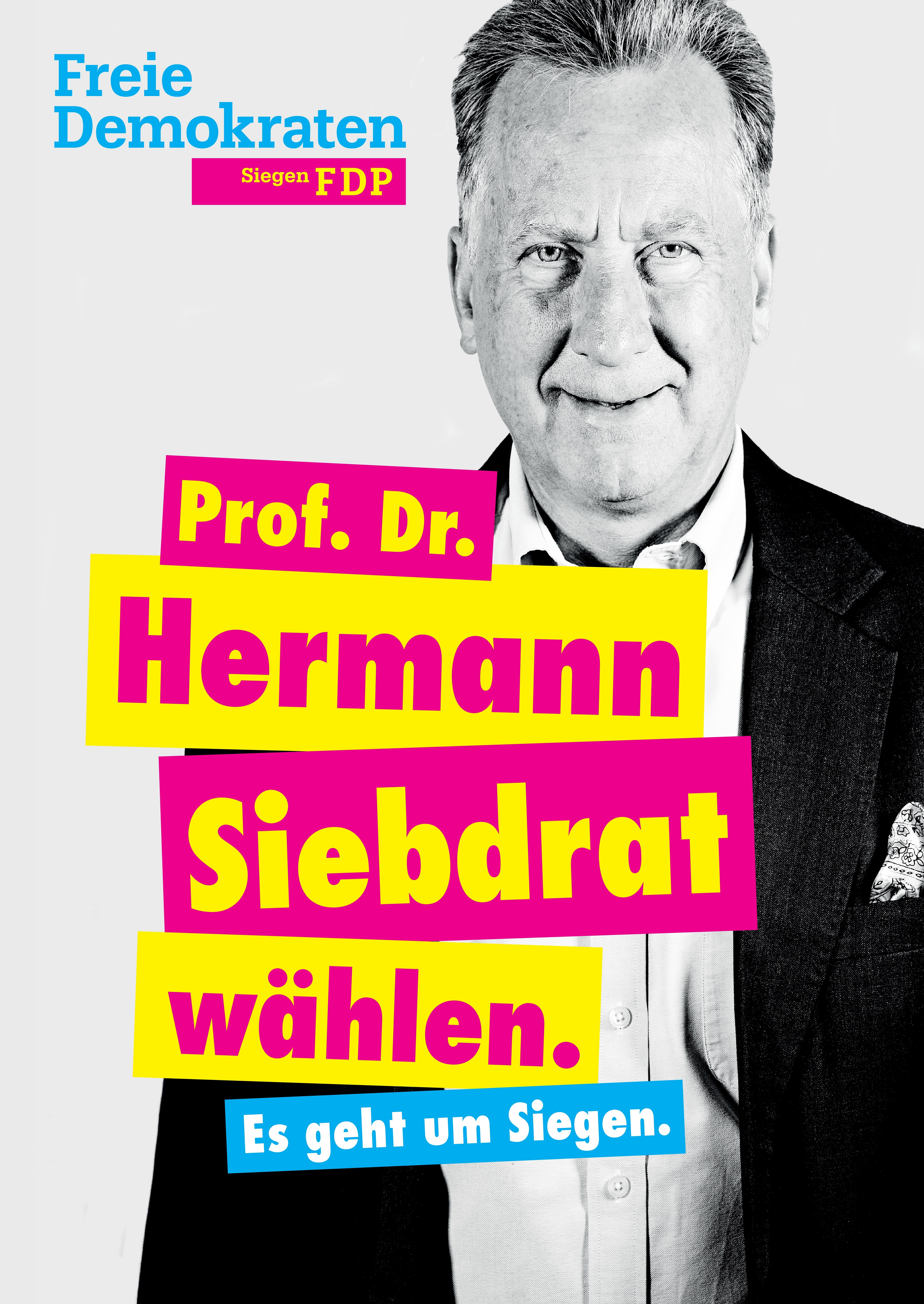 Prof. Dr. Hermann Siebdrat