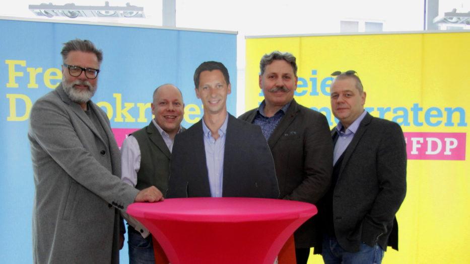 FDP Kreisvorstand votiert überraschend für Landrat Andreas Müller