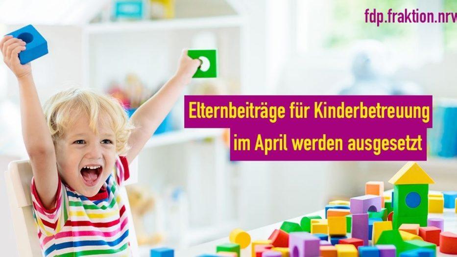 Wichtiges Signal der Entlastung für die Familien in Siegen-Wittgenstein