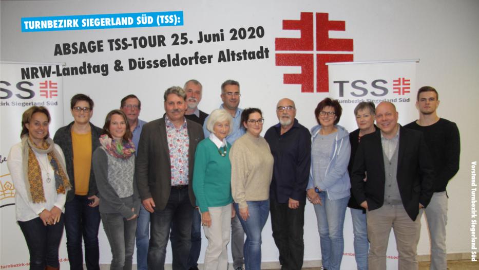 ABSAGE: Informationsfahrt am 25. Juni NRW-Landtag & Düsseldorfer Altstadt