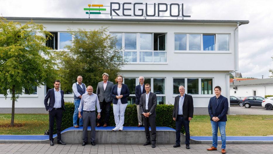 FDP besucht REGUPOL BSW GmbH