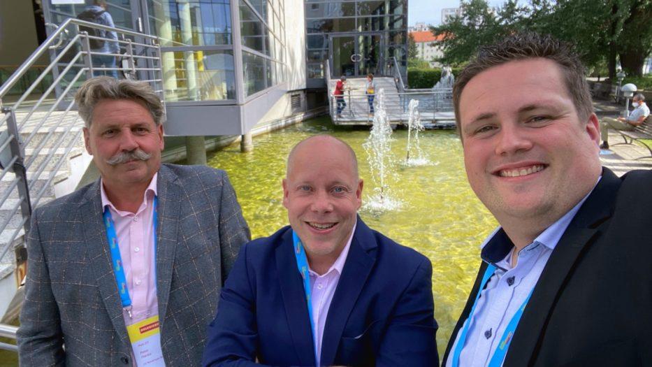 Delegierte Weigel, Müller und Hanke zur MISSION AUFBRUCH in Berlin