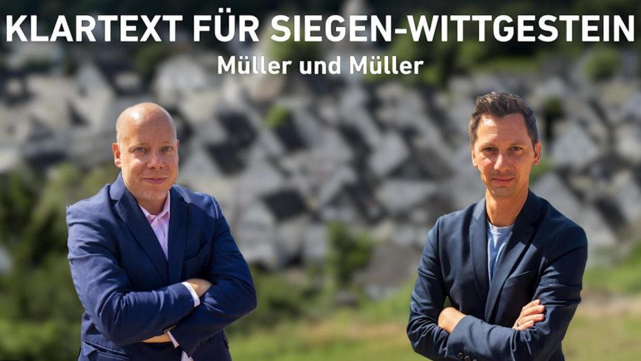 KLARTEXT für SIEGEN-WITTGENSTEIN: Müller und Müller
